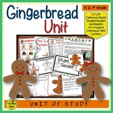 Gingerbread Unit: Activities & Centers