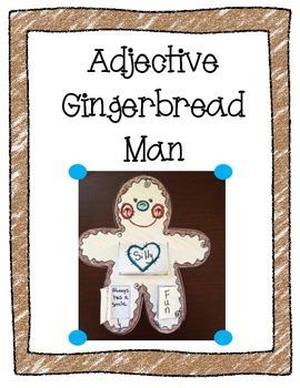 Gingerbread Unit: Adjective Gingerbread Man