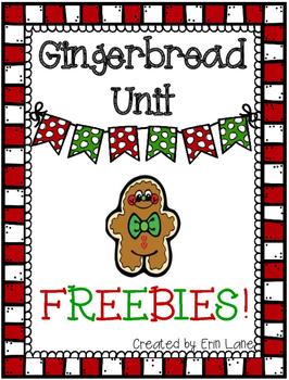 Gingerbread Unit FREEBIES!