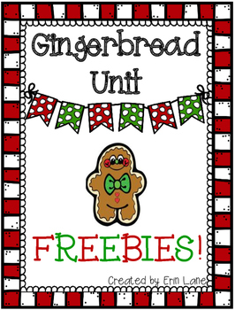 Gingerbread Unit FREEBIES!
