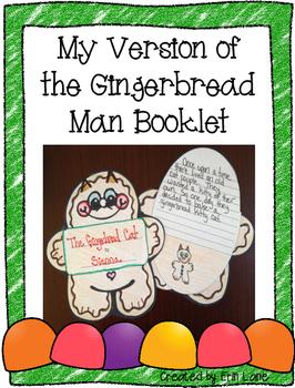 Gingerbread Unit: Gingerbread Booklet
