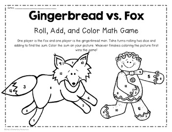 Gingerbread Print-and-Go Activities {Reading, Writing & a Dash of Math}