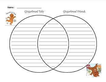 Gingerbread Venn Diagram