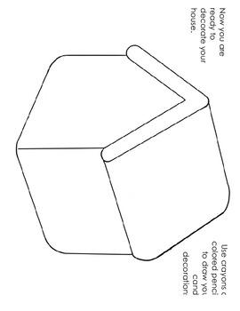 Gingerbread Villages -  A 3rd Grade Common Core Math Activity