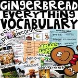 Gingerbread Vocabulary Activities