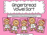Gingerbread Vowel Sort
