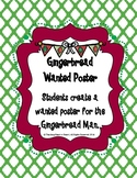Gingerbread Wanted Poster