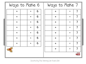 Gingerbread Ways to Make Addition