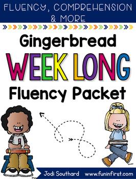 Gingerbread Week Long Fluency Packet