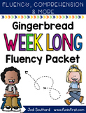 Gingerbread Week Long Fluency Packet