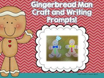 Gingerbread Winter Fun! {8 Literacy Centers & Craftivity}