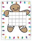 Gingerbread/Winter themed Numeracy ten frame Activities fo