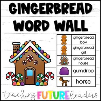 Gingerbread Word Wall