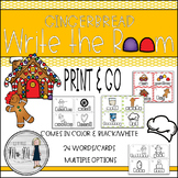 Gingerbread Write the Room: A Language Arts Activity