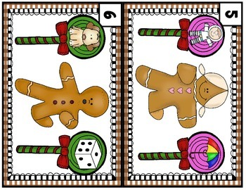 Gingerbread Write the Room - Beginning Sounds Edition