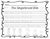 Writing Gingerbread-Sentence Starters