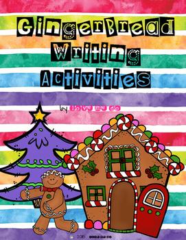 Gingerbread Writing Activities