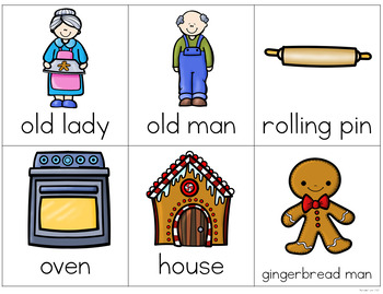 Gingerbread Writing Center