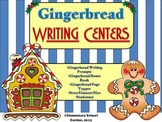 Gingerbread Writing Centers (perfect for Winter or Christmas)