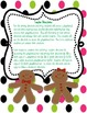 Gingerbread Writing Directions Craftivity and Flat Ginger Activity
