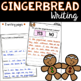 Gingerbread Writing FREEBIES!