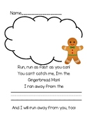 Gingerbread Writing Prompt