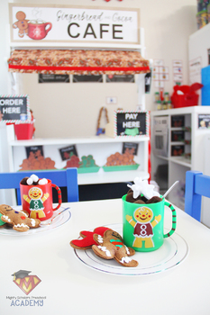 Gingerbread and Cocoa Cafe Dramatic Play Pack