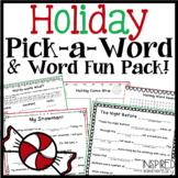 """Holiday """"Mad Libs"""" Bundle!"""