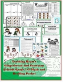 Gingerbread and Snowman Themed Math and Literacy Activities