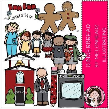 Melonheadz: Gingerbread clip art