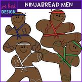 Gingerbread Clip Art - Ninjabread Men {jen hart Clip Art}