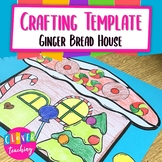 Gingerbread house Writing Prompt - Crafting Template
