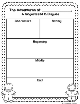 Gingerbread in Disguise: A Fictional Narrative Writing Activity