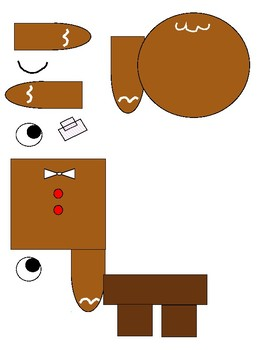 Gingerbread loose computer puzzle