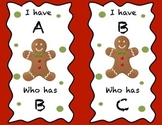 Gingerbread man I have...who has
