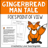 Gingerbread man fractured tale- fox's point of view