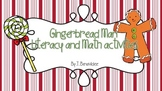 Gingerbread man literacy and math mini unit