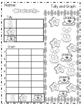 Gingerbread Math and Literacy activities