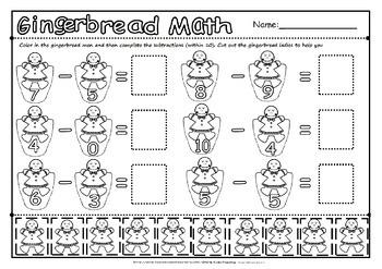Gingerbread maths