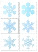 Gingerbread men, Snowflakes, Ornaments matching or simple symmetry puzzles