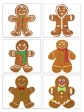 Gingerbread men, Snowflakes, Ornaments matching or simple