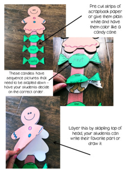 Gingerbread Man retell craftivity