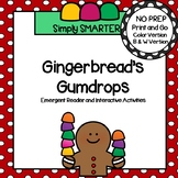 Gingerbread Emergent Reader Book AND Addition Interactive