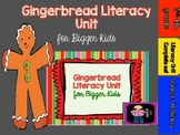 Gingerbread Literacy and Writing Activities for Bigger Kids