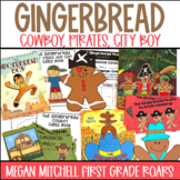Gingerbread Cowboy Gingerbread Pirates and Gingerbread Boy in the City