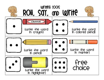 Gingerbread's Roll, Say, Write and Read Say Keep - CVCe words