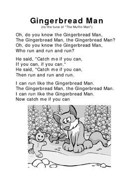 Gingerbrean Man poem