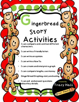 Gingerbread Man Story Fun--UPDATED