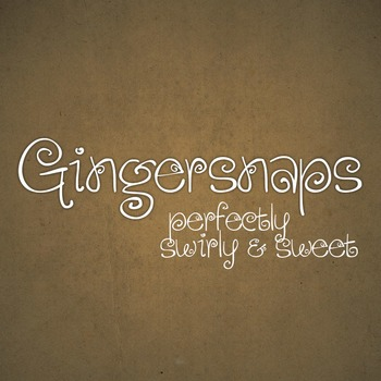 Gingersnaps Font for Commercial Use