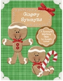 Gingery Synonyms: A Gingerbread Synonym Matching Game